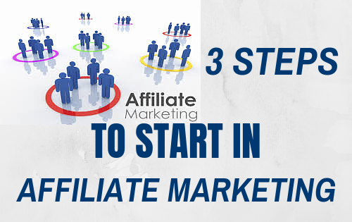 starting out as an affiliate marketer